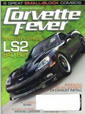 Corvette Fever Magazine Oct 2008 Issue '07 Specter Werkes' Group 6 C6 Bad Boy
