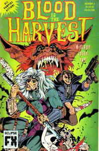 Blood Is the Harvest #1 VF; Eclipse | save on shipping - details inside