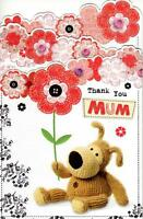 Boofle Thank You Mum Happy Mother's Day Card Cute Range Greeting Cards