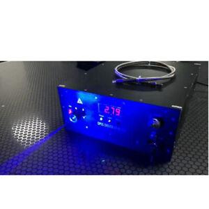 520nm 1000MW Green Laser Fiber Coupled Output Digital Display Adjustable Power