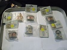 2#J      Lot of 6 French Country Pre-Painted RESIN Buildings Minis Just 4 Keeps