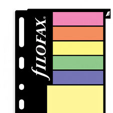 Filofax Multifit Large Assorted Sticky Notes Personal/A5/A4 Refill Insert 130136