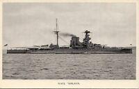 Postcard Ship HMS Malaya