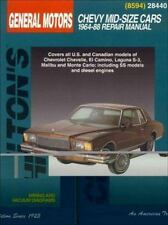 GM Chevrolet Mid-Size Cars, 1964-88 (Chilton Total Car