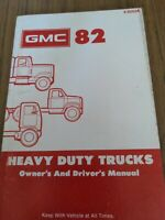 1982 GMC Heavy Duty Truck Owners Manual