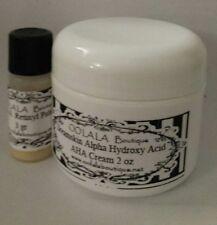 VITAMIN A ALPHA HYDROXY ACID AHA CREAM GLYCOLIC LACTIC FRUIT SALICYLIC ACID