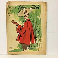 Le Petit Echo de la Mode N° 38  - 15 Août 1948 - Ancien Magazine Français