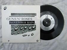 GUNS N ROSES NOVEMBER RAIN / SWEET CHILD O'MINE geffen gfs 18 EX+ p/s 45rpm