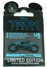Retired RARE LE Disney Pin✿Movie Tron Legacy Countdown Sam Flynn Lightcycle Open