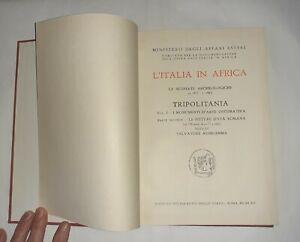 L'Italia in Africa. Le scoperte archeologiche - Vol. 1 - Tomo II - S.Aurigemma
