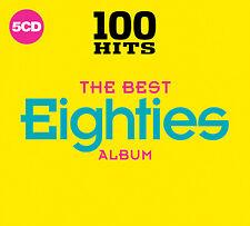 100 Hits - The Best Eighties Album Birthday Gift Present Music 5 CD