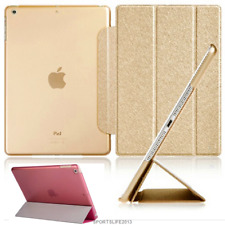 """PU leather PC Smart Stand Case for ipad 5 6 air mini 2 3 4 pro 9.7"""" 10.5"""" 10.2"""""""