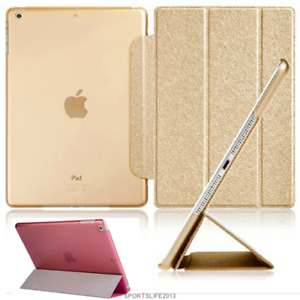 """PU leather PC Smart Stand Case for ipad 5 air mini 3 4 5 6 pro 9.7"""" 10.5"""" 10.2"""""""