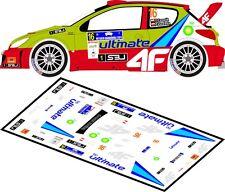 DECALS 1/43 PEUGEOT 206 WRC - #16 - CZOPIK - RALLYE BARBORKA 2011 - MFZ D43086