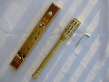 New Pure Brass Moxibustion Therapy Stick Tube for 18mm Inside Diameter Moxa Roll