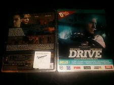 DRIVE Bluray+DVD Combo French World Exclusive Limited Edition Steelbook New&Seal