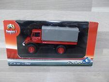 Solido 1/43 - Mercedes-Benz unimog 416 dévidoir automobile feux de forêts