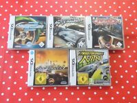5 x Need for Speed Spiele Paket Underground 2 Most Wanted Carbon usw Nintendo DS