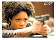 James Bond Skyfall Gold Card Rittenhouse, #81 Bond and Moneypenny, 001/100