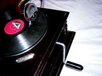 GRAMOPHONE PHONOGRAPH SOUND BOX WITH NEEDLES