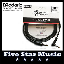 D'ADDARIO PLANET WAVES AMERICAN STAGE SERIES GUITAR CABLE 10' PW-AMSGRA-10 NEW