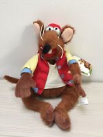 Disney Store Stamped Jim Henson Muppets Rizzo The Rat Soft Toy Plush With Tag.