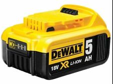 Genuine NEW Dewalt DCB184 18v 5.0Ah XR Li-Ion 5ah Lithium Slide Battery