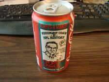 1993 Don Shula Coca Cola Can 325th Career Win Miami Dolphins