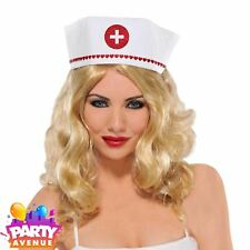 Nurse Hat A&E Doctors & Nurses Fancy Dress Costume Accessory