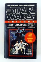 STAR WARS TRILOGY ANH, ESB, ROTJ Del Rey Paperback Softcover Book 1993