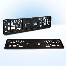 2x Kennzeichenhalter | 460 x 110 mm | schwarz | Erut | kurze Kennzeichen | 46 cm