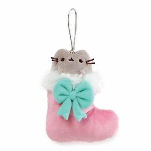 Pusheen Stocking Ornament Gund Plush Toy Holiday