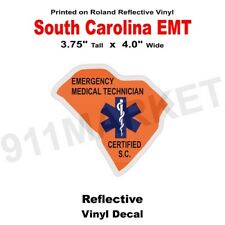 Kansas First Responder Reflective Decal KS EFR FR Medical EMT Car Sticker R 91