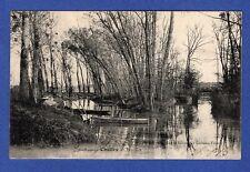 Ah*  CPA -> Chelles-Gournay. -> Les îles / 1903 /  Seine-et-Marne -> 77