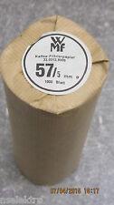 1000 Kaffeerundfilter Kaffeefilter Rundfilter 60/57,5mm WMF 1000, WMF 2000, 2200