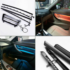 LED Ambient Lights Door Panel decorative Trims Atmosphere Lamp For BMW F30 F31