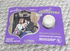 Vintage NEW Lutron Dimmer Light Switch  In Package NOS 600 watt