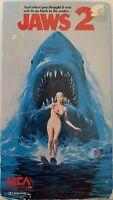 Jaws 2 1978 VHS Roy Scheider Lorraine Gary Murray Hamilton VHSshopCom