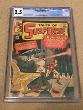 Tales of Suspense 50 CGC 2.5 (1st app of the Mandarin!!)- Classic SA Iron Man