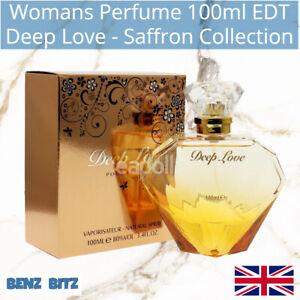 Deep Love Womans Perfume By Saffron 100ml EDT Eau De Toilette Spray