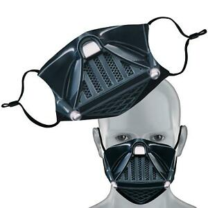 Vadar Inspired Sci Fi Face Mask Double Layer Washable Face Cover