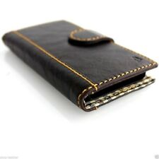 genuine leather Case for iphone 5 5s 5c 5g book wallet luxury cover flip mgnet
