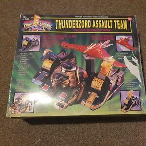 Original Power Rangers Thunderzord Assault Team