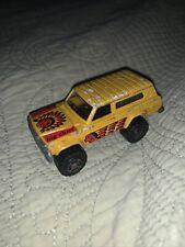 Vintage Majorette 4x4 Jeep Cherokee No. 236 Hard to Find Big Chief Variant
