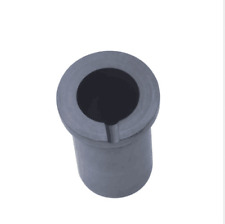 Graphite crucible Metal Melting Gold Silver Scrap Casting Mould Melt 1KG