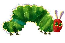 """The Very Hungry Caterpillar Iron On Transfer, 4x7.5"""" for LIGHT Colored Fabrics"""