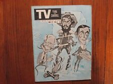 1968 Pen Argyl Pa.TV Time and Channel Mag(THE SECOND HUNDRED YEARS/MONTE MARKHAM