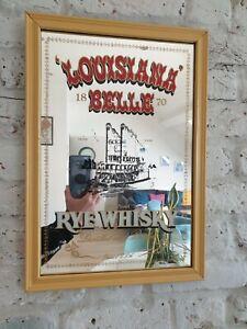 Vintage whisky Pub bar mirror frame