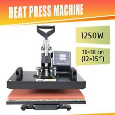 Press Machine Printer UPGRADE 12x15in. 30x38cm Heat Transfer T-shirt