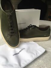 Common Projects Army Green Achilles Low Size 44 / 11 Brand New in Box